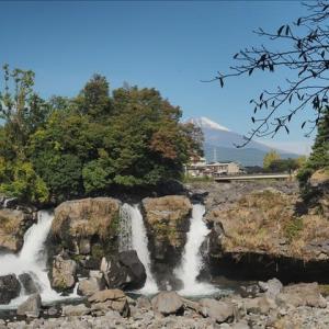 長泉町の鮎壺の滝