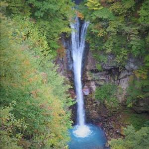 那須の駒止の滝・・・
