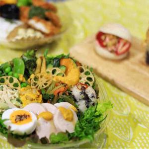 Maple Brickのテイクアウトお弁当!野菜もボリューム満点@松山市
