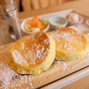 cafeかさねのパンケーキ@西条市の人気カフェ