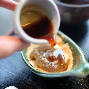 おおさかや蔵はちの絶品!本わらび餅@西条市カフェ