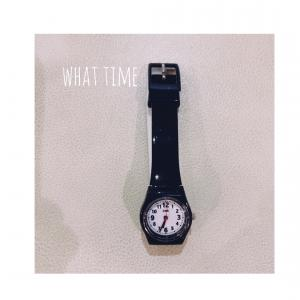 今、何時何分?