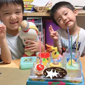 次男 5歳の誕生日
