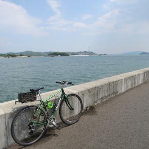 児島湾岸道で風になれなかった