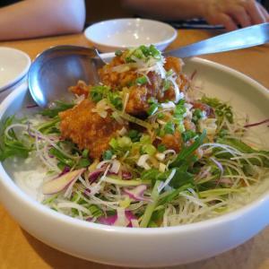 中華園の冷やし担々麺