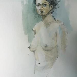 裸婦デッサン 1