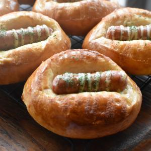 ウィンナーパン作りました♪大阪市天王寺区上本町・四天王寺パン教室