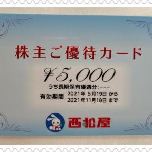 【ANA】【西松屋】から優待券が届きました。