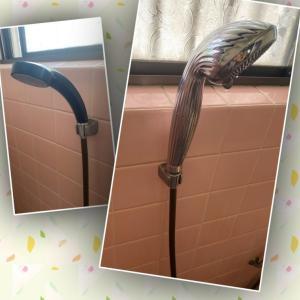 【オイレス】で選んだ高価なシャワーヘッドが届きました。