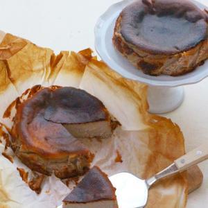 NEW!!TOMIZレシピ:マロンのバスク風チーズケーキ