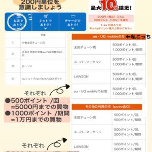 【auPAY還元キャンペーン】たぬきの大恩返し7/20〜8/31