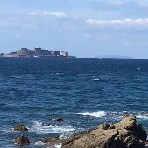 人気の軍艦島ツアーは昨日再開