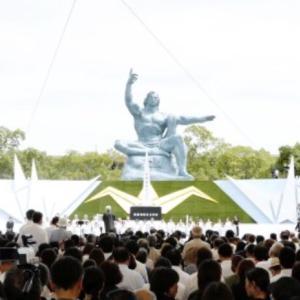 祈りの日長崎原爆記念日の朝