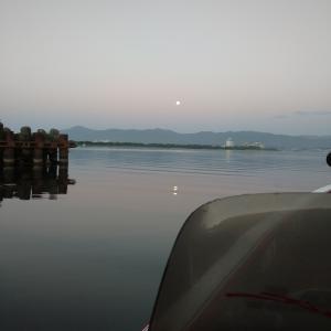 撃沈 釣れない琵琶湖