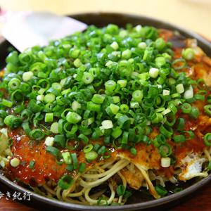 天六のお好み焼き店の厳島で厳島焼を食べる!