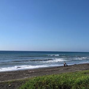 昨日の海♪