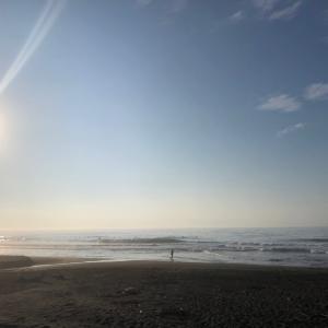 本日は、海♪