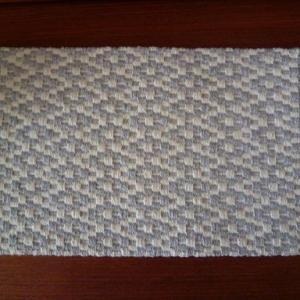 手織りのマット