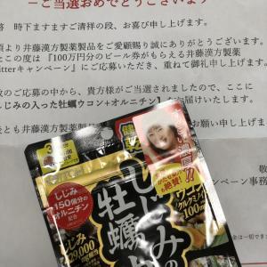 「100万円のビール券がもらえるTwitterキャンペーン」に応募(^_^)v