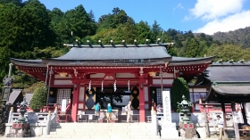 大山阿夫利神社、登山でした。