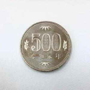 令和元年500円玉 初めて見ました!