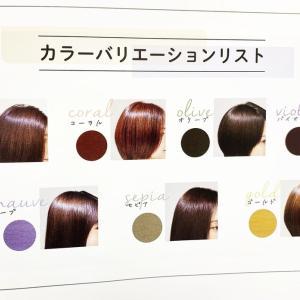 輝髪ザクロペインターブライトケア✨君津市の理美容院エンゼルが人気です。
