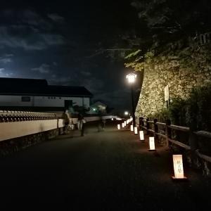 杵築観月祭 後半 光と月