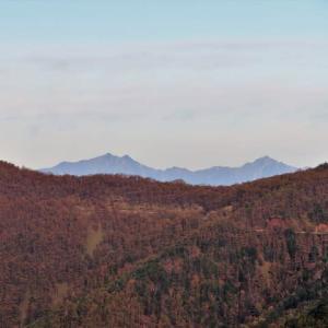 黄葉の浅間山