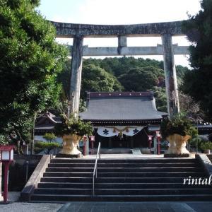 いいお天気だったので橘神社へ行ってみました