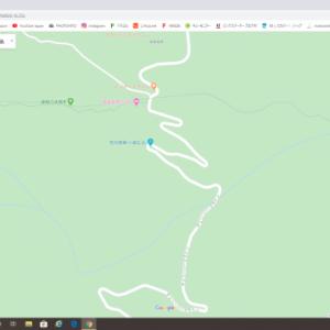 グーグルマップで仮想ツーリング♪