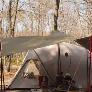 足をを運んだ事が自慢になる高規格キャンプ場 真冬のオープンタープ 本編3