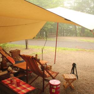 雨でも最高水準のキャンプを楽しむ