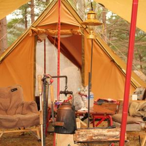 【GW直前】BREWERY併設の穴場キャンプ場で雨キャンプ