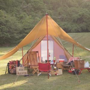 孤高のキャンパーあらわる@神割崎キャンプ場