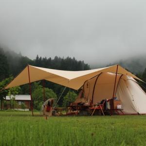 【序章】キャンプ旅は兎にも角にも雨キャンプ