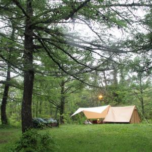 梅雨明けに思う雨キャンプの楽しみ方2021