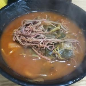 釜山で食べたユッケジャンカルグクスの味