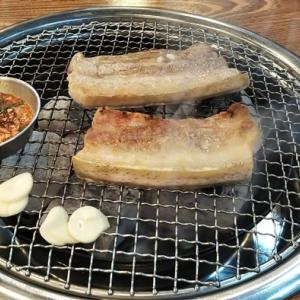 済州と言えば黒豚 やっぱり美味しい