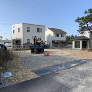 下関市 トヨタホーム 新築外構 ♪ 駐車場を造る S-STYLE GARDEN