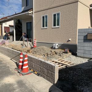 山陽小野田市 トヨタホーム 新築外構 ♪ タイルテラスを造る S-STYLE GARDEN