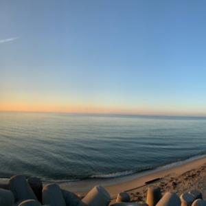 日の出を拝む!早朝ウォーキング
