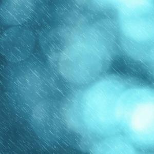 蒼い雨に。