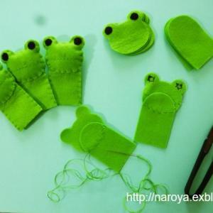指人形を製作中です