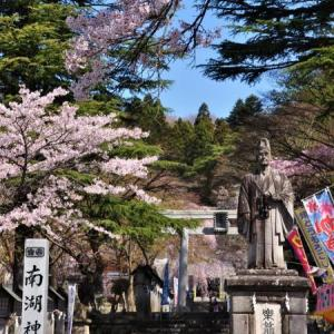 桜狩り 2日目 ④南湖公園と小峰城は満開の桜やでぇ~