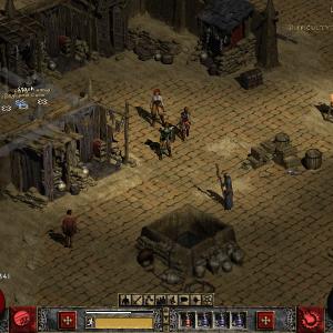 Diablo2 パソコンの設定