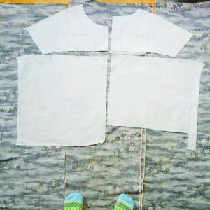 着物リメイク4着目は絹のあっぱっぱー