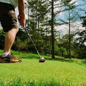 清里の森でパークゴルフ