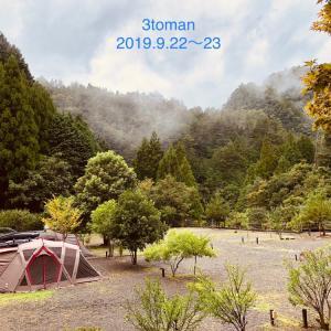 2019第13弾①*台風キャンプ*みんなキャンプ好っきやなぁ