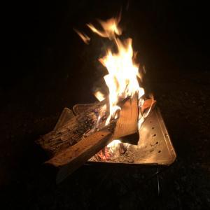 焚き火を見ながら頭に浮かんだ