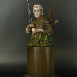 AC Models製 Japanese Soldier 1/12バストモデルと「総員玉砕せよ!」